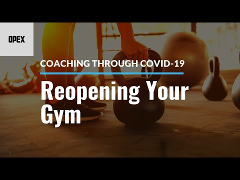 Coaching Through COVID-19: Reopening Your Gym