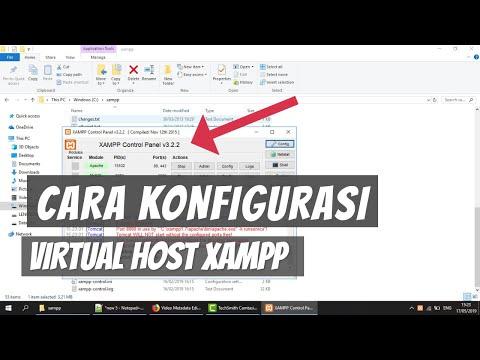 Cara Konfigurasi Virtual Host di Xampp