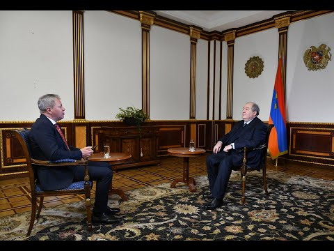 ՀՀ Նախագահ Արմեն Սարգսյանի հարցազրույցը