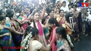 Banjara Girls & Ladies Amazing Dance on Folk Song in Teej Festival  || Must Watch |  3TV BANJARA