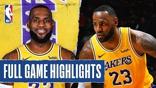 LAKERS at SPURS | FULL GAME HIGHLIGHTS | November 25, 2019