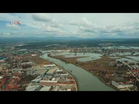 Karlovac snimljen dronom za HRT