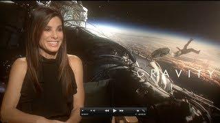 GRAVITY Interviews: Sandra Bullock, Alfonso Cuaron (Director) and Mike Massimino (NASA Astronaut)
