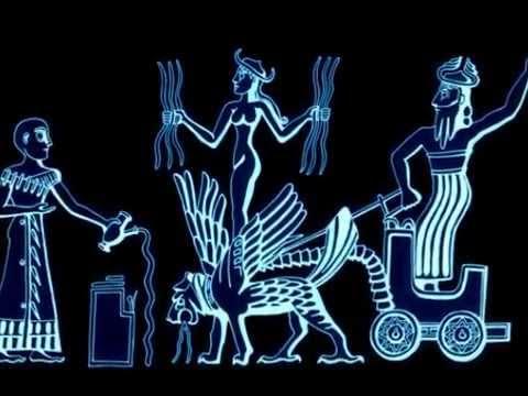 I N A N N A - Sumerian Mother Goddess -TurkeyUFOReport Artwork - 2015