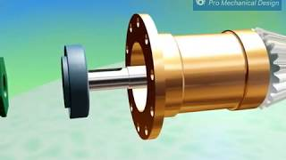 видео Коническо - цилиндрический  редуктор