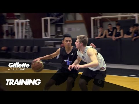 Training at the Stellazzura Basketball Academy | Gillette World Sport