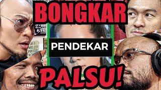 BONGKAR PENIPU CEWE PENDEKAR PALSU VS ATLIT MMA‼️Deddy Corbuzier Podcast