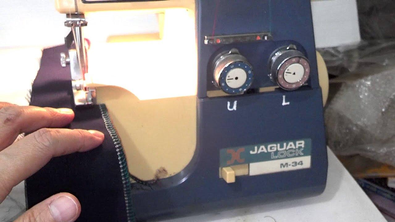 Jaguar Lock M 34 Serger Aka White 534 Superlock Youtube