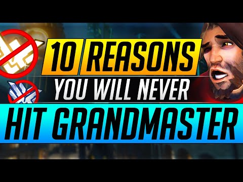 10 Reasons Why YOU WILL NEVER Hit Grandmaster BIG MISTAKES You MUST FIX Overwatch Tips Guide