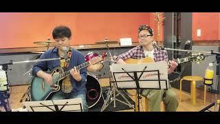 「ひとりde Amakusa」の次は、ギター かーもんとの「ふたりde Amakusa」です! 張り切ってまいりましょー!