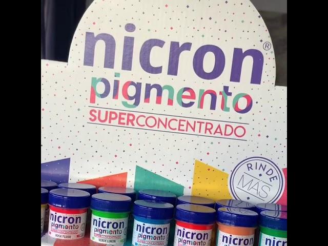 PRÓXIMAMENTE PIGMENTOS NICRON
