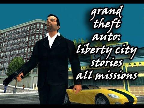 GTA: Liberty City Stories - All Missions Marathon (PS2)