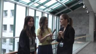 Entrevue Simone Fortin & Marie Philippe Jean - Salon des communications 2015