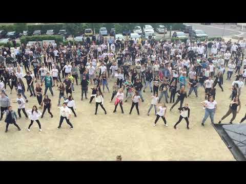 Flashmob zur Verabschiedung