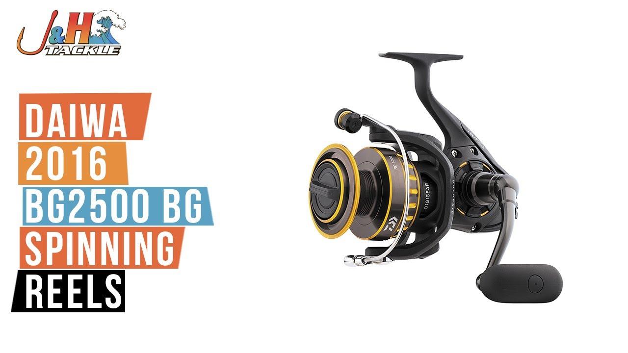 Daiwa BG Saltwater Spinning Reel-BG2500 Medium Light//Heavy