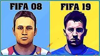 EDEN HAZARD Evolution [FIFA 08 - FIFA 19]