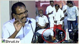 பரியன் அப்பா தங்கராஜ் காலில் விழுந்த மாரிமுத்து ! | emotional moments! | Pariyerum Perumal