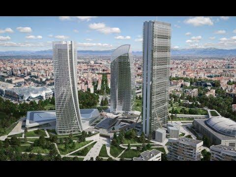 City Life Milano Office Tower by Zaha Hadid Architects