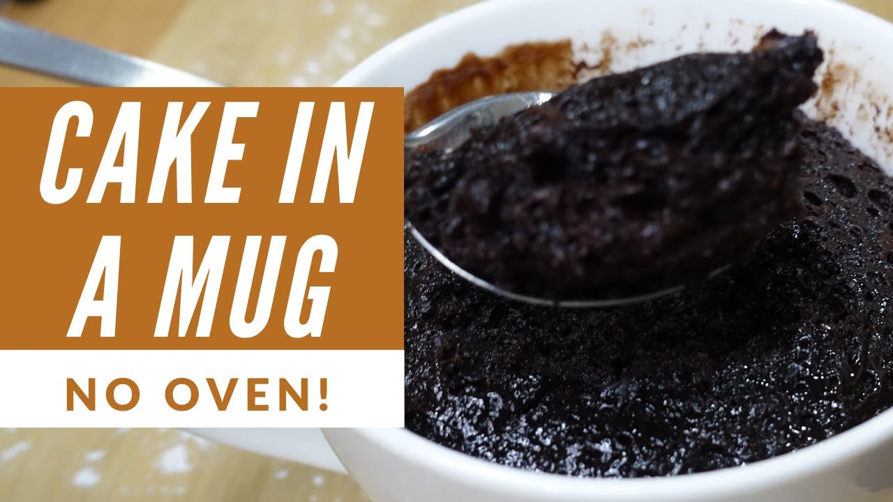 STEP-BY-STEP TASTY CAKE IN A MUG RECIPE | NO OVEN - YouTube