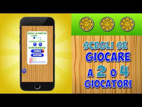 Scopa - GRATIS su iOS, Android e Windows Phone! from YouTube · Duration:  31 seconds