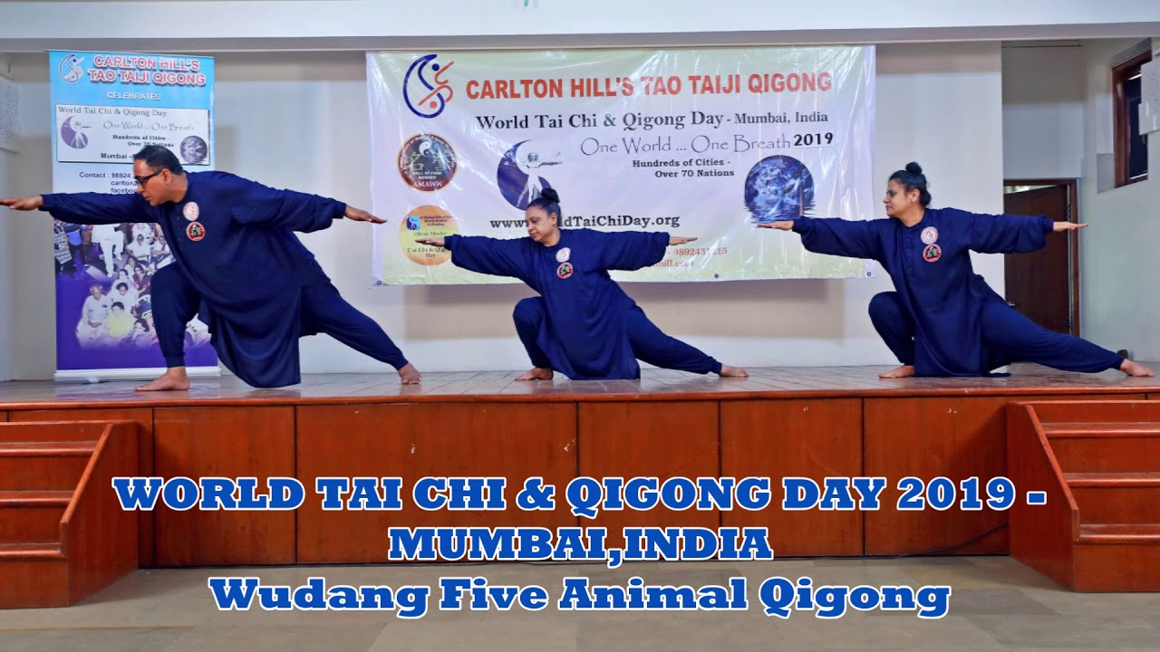 355a44e41 WORLD TAI CHI & QIGONG DAY 2019 - MUMBAI, INDIA - YouTube