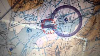 FAA map of Restricted Bundy Ranch Airspace thumbnail