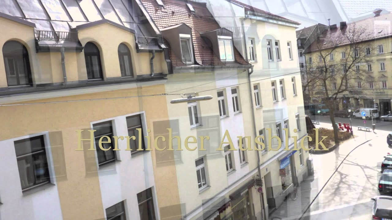Wohnungssuche in Mnchen Mblierte Wohnung in Schwabing an der Mnchner Freiheit  YouTube