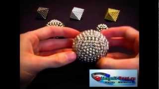 Супер фигуры из Неокуба(На видео представлены фигуры которые можно построить из неокуба. Больше интересных видео о магнитах Вы..., 2012-09-03T01:17:43.000Z)