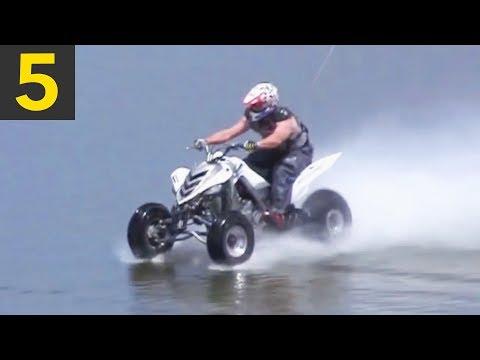 Top 5 Incredible Vehicle Water Skips
