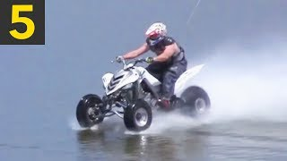 Top 5 Incredible Vehicle Water Skips