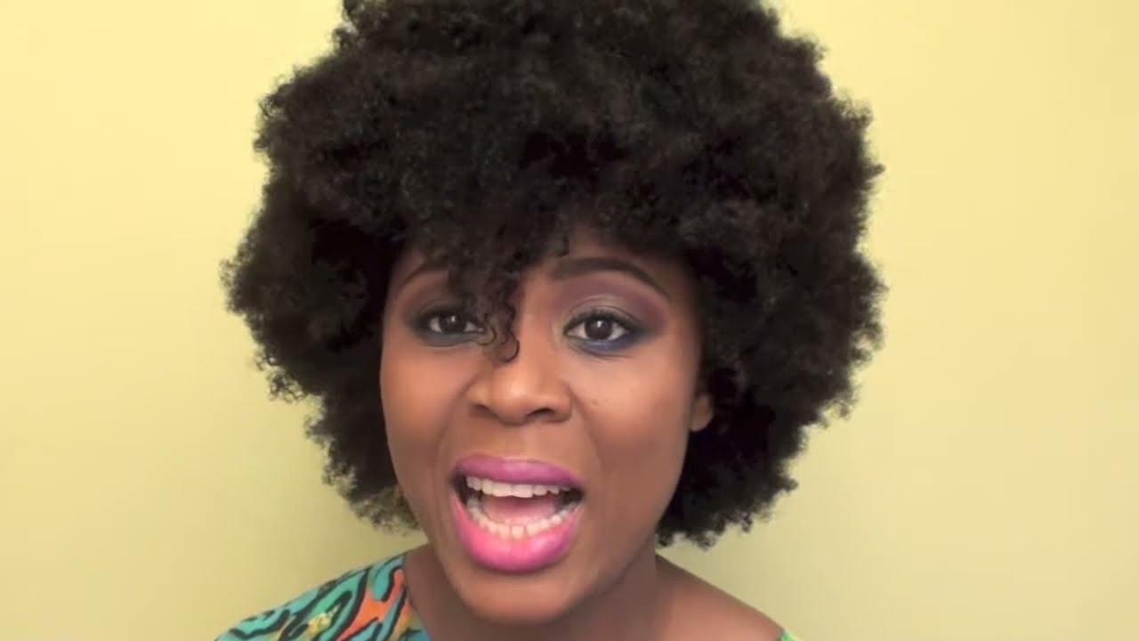 wash n go natural hair styles my wash n go afro 9265 | maxresdefault