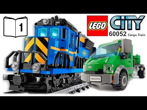 LEGO CITY 60052 Cargo Train Video Instructions 1