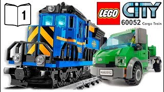 LEGO CITY Cargo Train 60052 Review Instructions 1