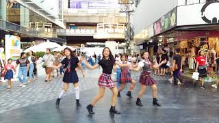 Busaba cover Blackpink [bbhmm#playing with fire] [kpop in public]
