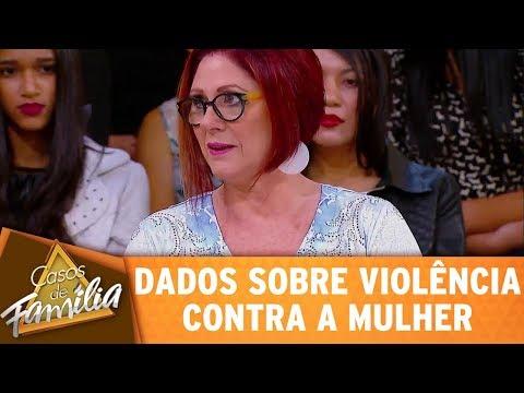 Dra. Anahy Apresenta Dados Sobre Violência Contra A Mulher | Casos De Família (02/10/17)