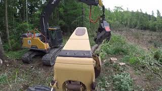 My First Day Running A Skidder
