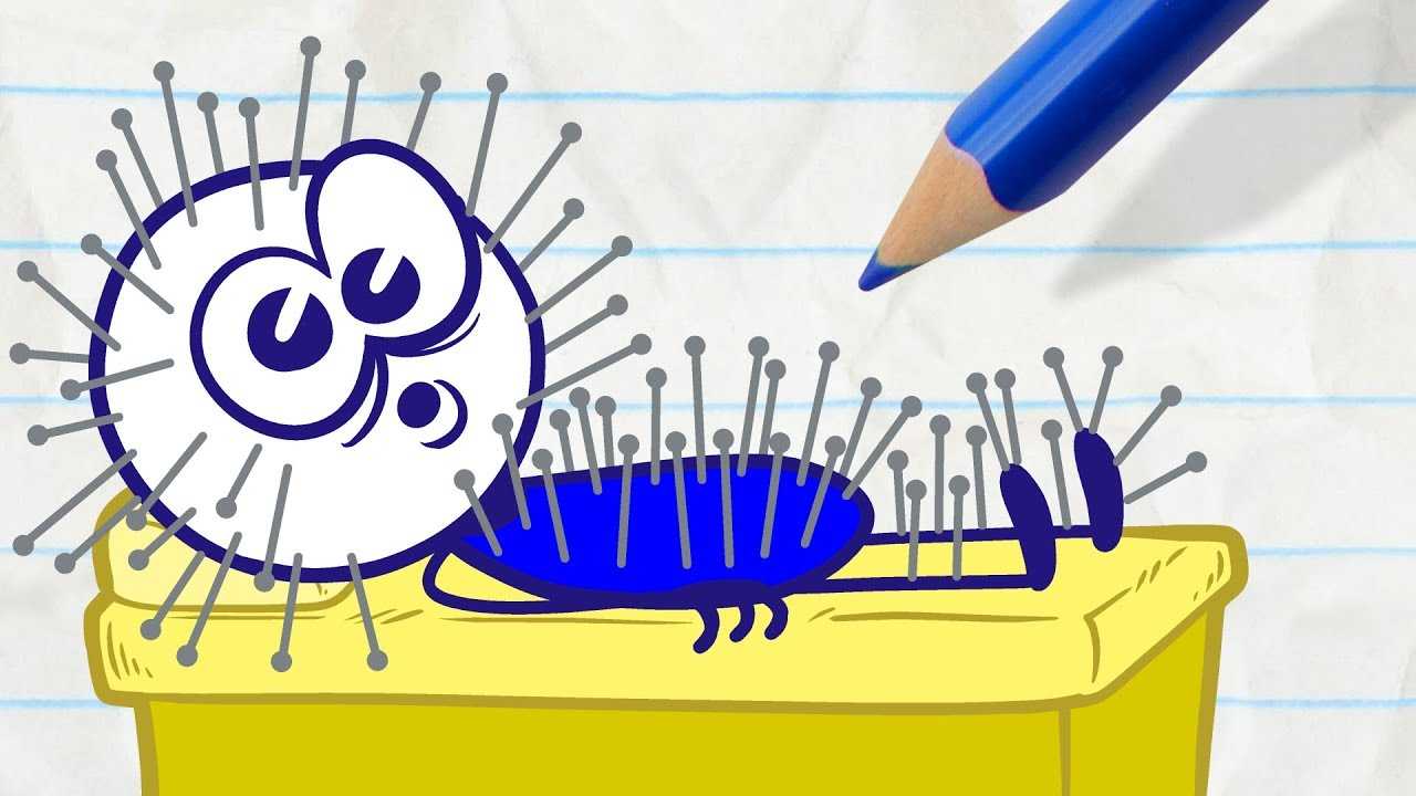 pencilmate-gets-bad-service-in-don-t-shoot-the-massager-pencilmation-cartoons-for-kids