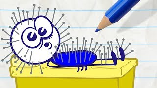 - Pencilmate Gets Bad Service in DON T SHOOT THE MASSAGER Pencilmation Cartoons for Kids