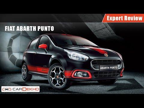 Fiat Abarth Punto | Expert Review | CarDekho.com - YouTube