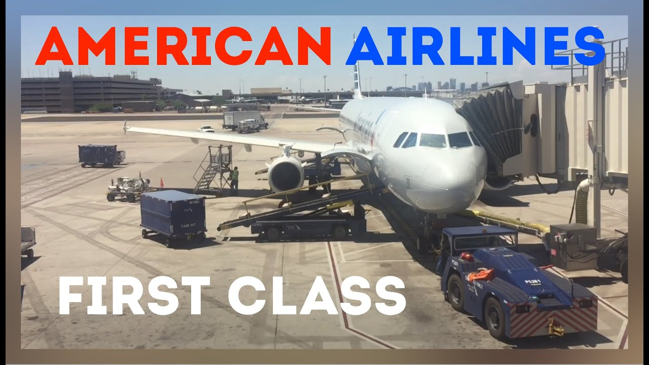 American Airlines First Class Airbus A321 Phoenix Phx To