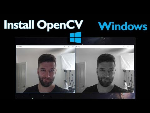 How To Install OpenCV On Windows With PYTHON
