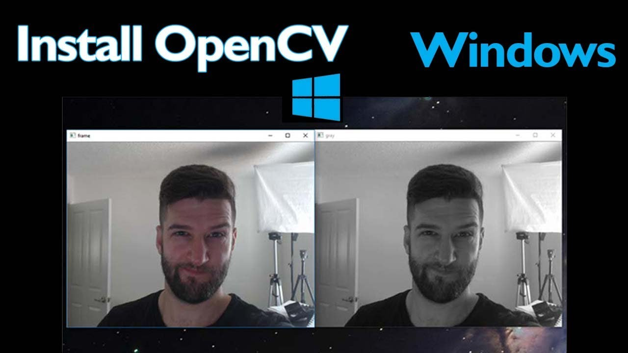 Install OpenCV 3 for Python on Windows | Post | Coding For Entrepreneurs