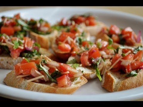 how to make bruschetta youtube