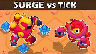 SURGE vs TICK | Hero VS Villain 2 | Brawl Stars