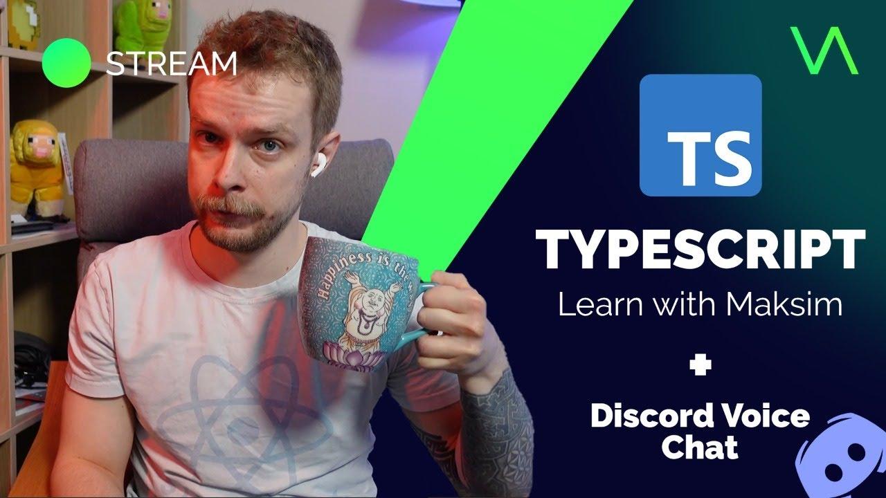 Learn TypeScript - Radio Maksim