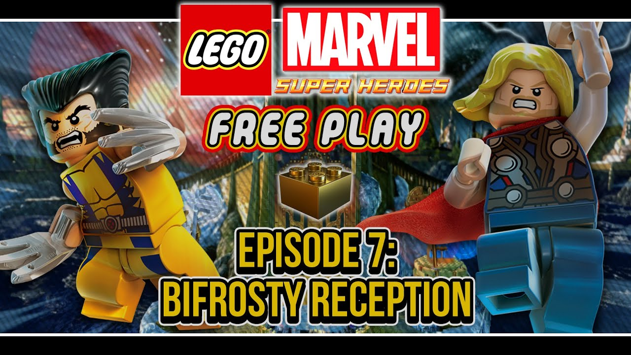 Lego Marvel Super Heroes Co Op Free Play Episode 7 Bifrosty