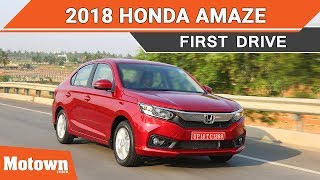 2018 Honda Amaze | First Drive Review | Motown India