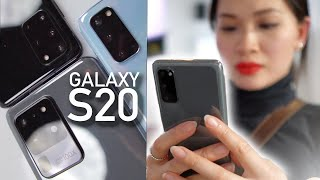 Galaxy S20, S20+, S20 Ultra: Hands On Impressions!