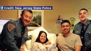 N.J. police help deliver baby on highway