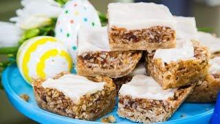 Marjorie Johnson's Award-winning Crispy Date Bar Recipe